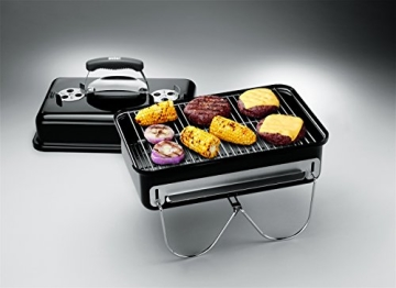 Weber 1131004 Go-Anywhere Kohle Grill - 3
