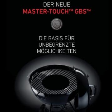 Weber 1381204 Master-Touch GBS ø 57 cm Holzkohlegrill Black - 3