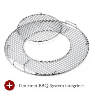 Weber 1381204 Master-Touch GBS ø 57 cm Holzkohlegrill Black - 6